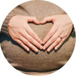Panier Maman mains en coeur