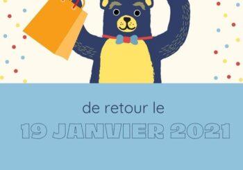 Service de cueillette dès le 19 janvier 2021